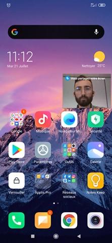 Comment partager son écran sur Messenger ?