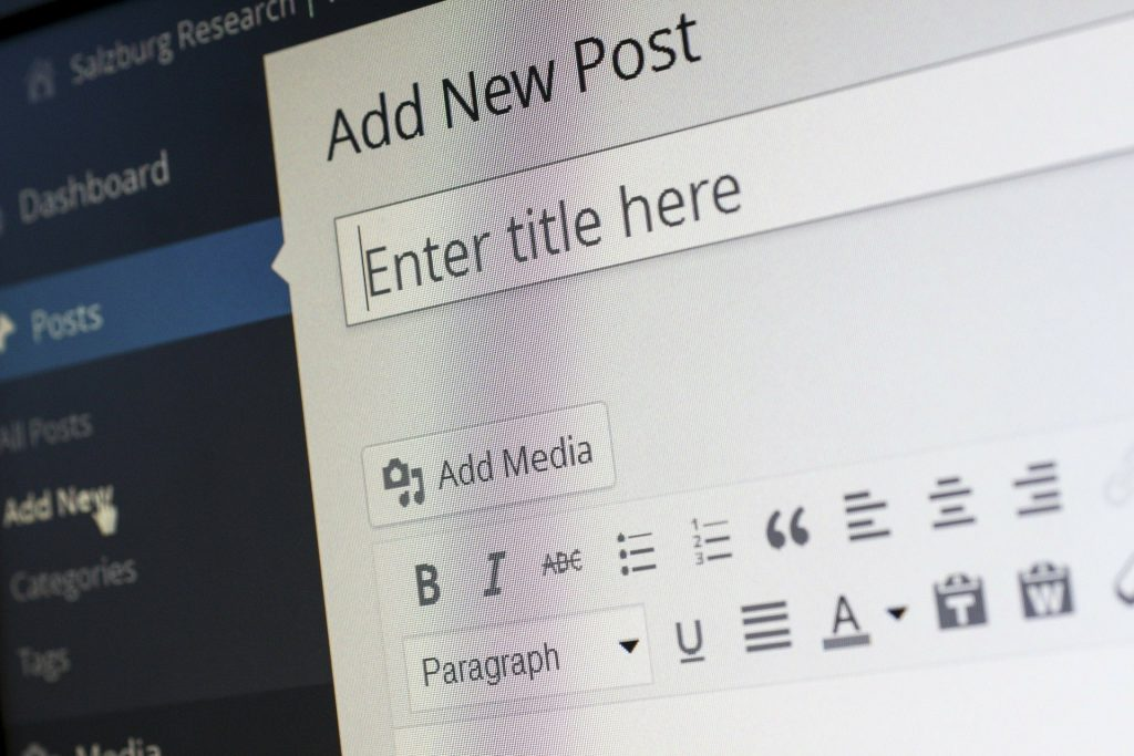 WordPress image descriptif